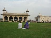 Relaxing in Old Delhi