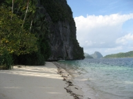Pinagbuyutan Island beach, Palawan