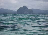 Simizu Island waters
