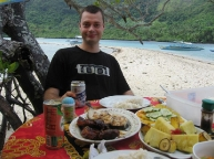 Dining in El Nido's Marine Reserve