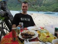 Dining in El Nido's Marine Reserve