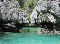 Entrance Small Lagoon, El Nido
