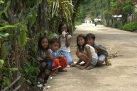 The chidren of El Nido