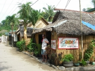 Squidos restaurant, Palawan