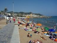Sitges second Beach