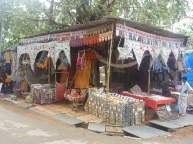 Souvenirs shops of Palolem
