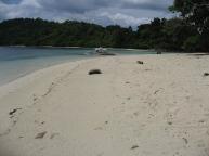 Port Barton Fine sand beach