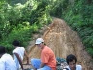 Muddy roads ahead
