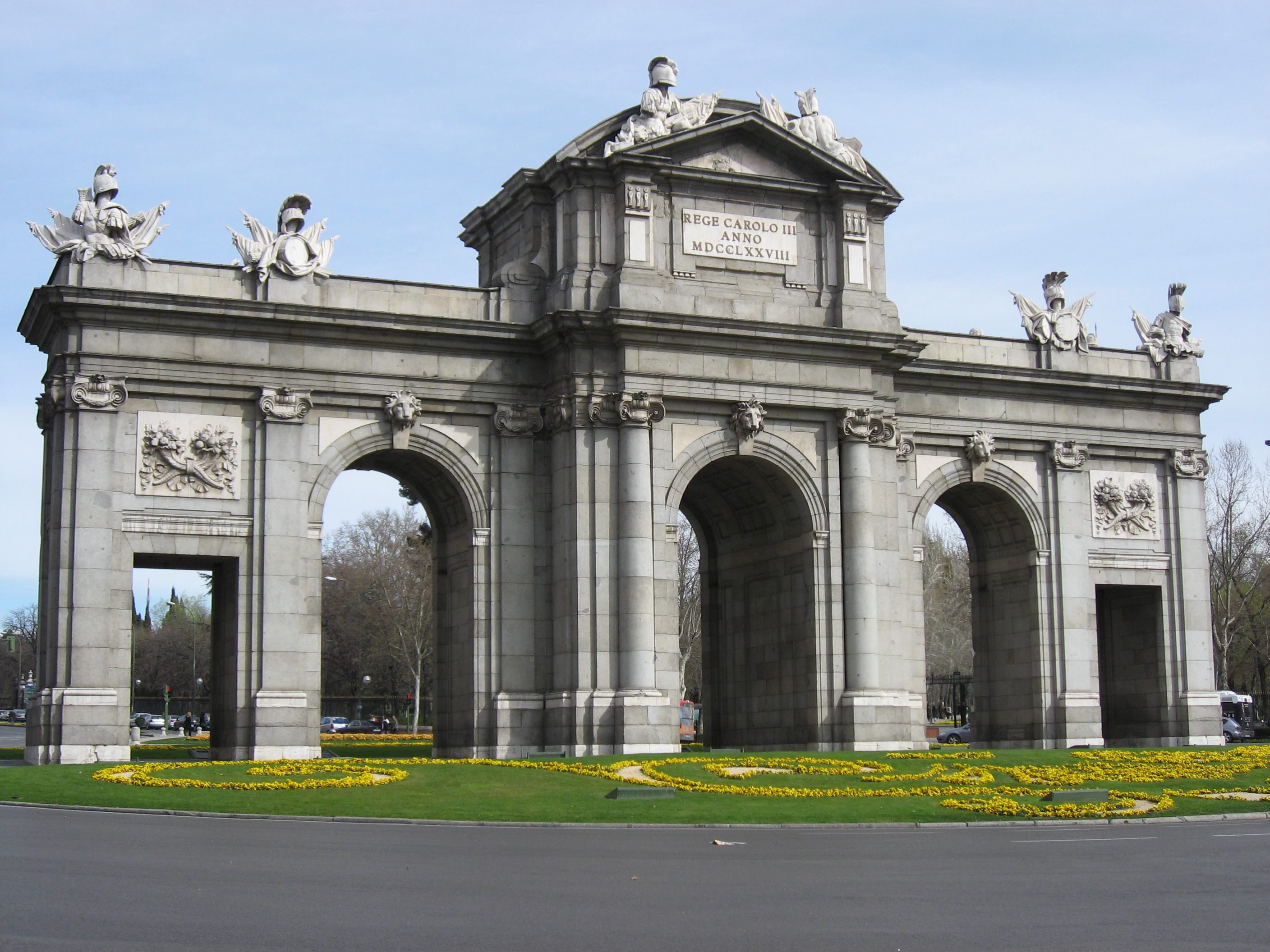 Through spain by train - Puerta de espana ...